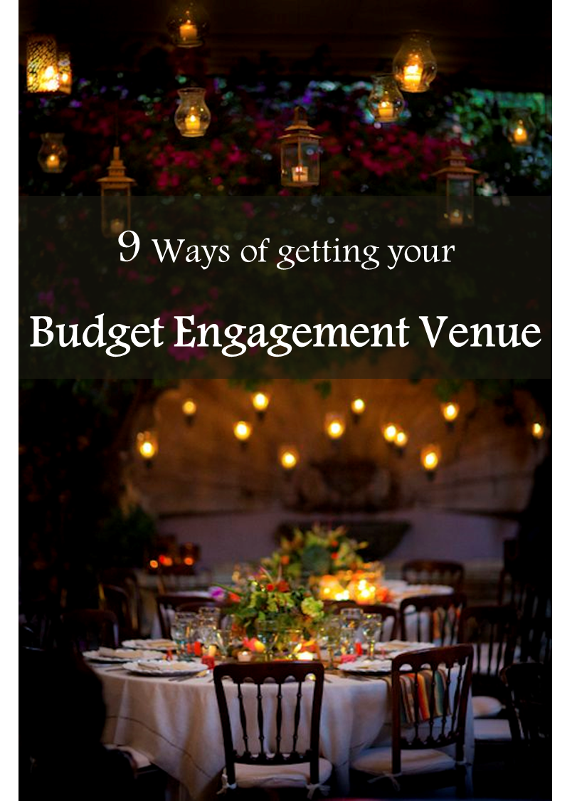 Budget Engagement Venue