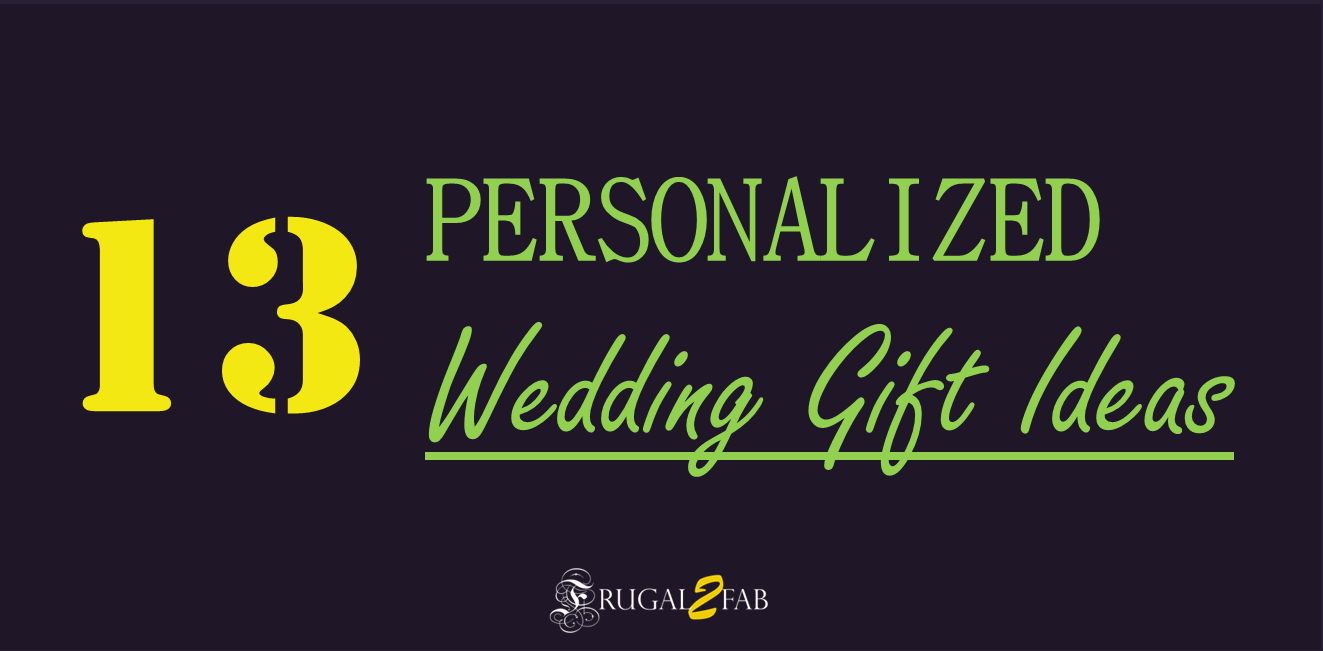 Wedding Gift Ideas For Rs 1500 : 13 Inexpensive Personalized Wedding Gift Ideas - Frugal2Fab
