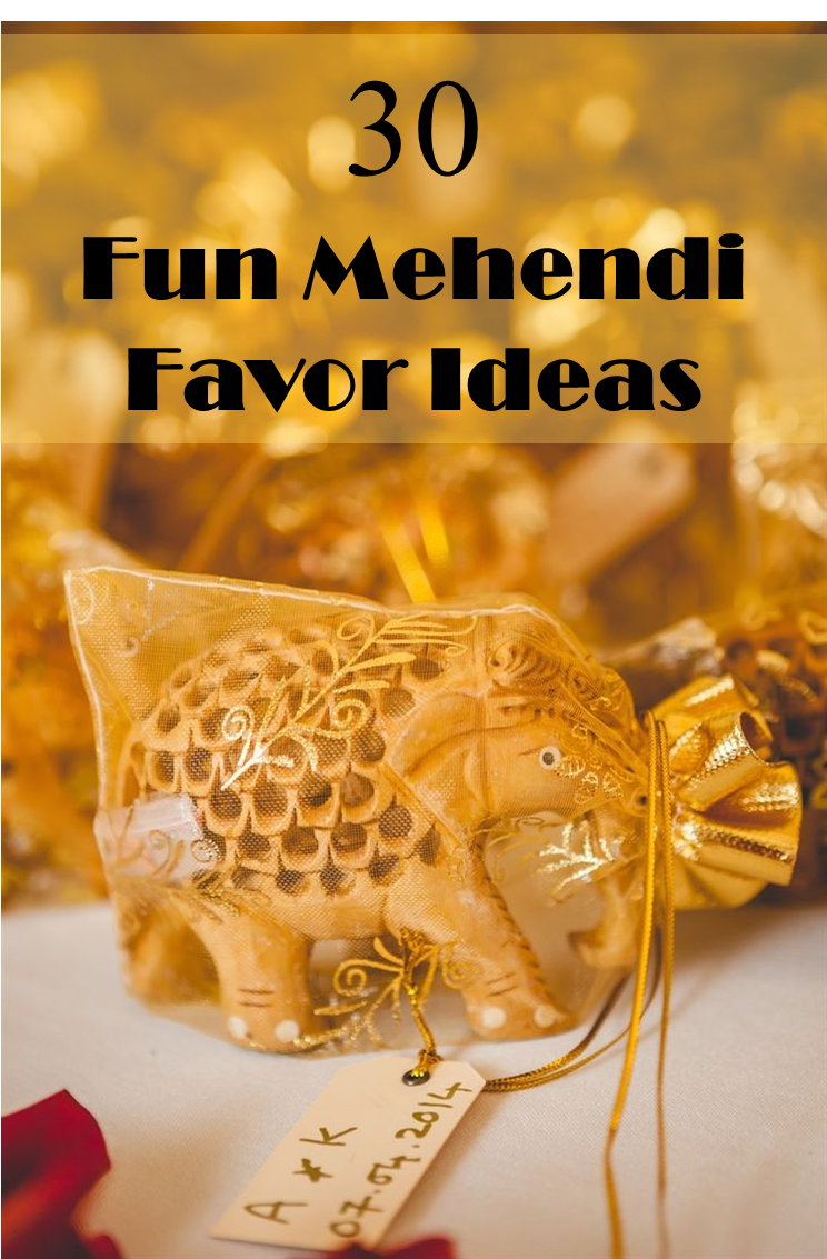 30 Fun Mehendi Favor Ideas For Your Ceremony Frugal2fab