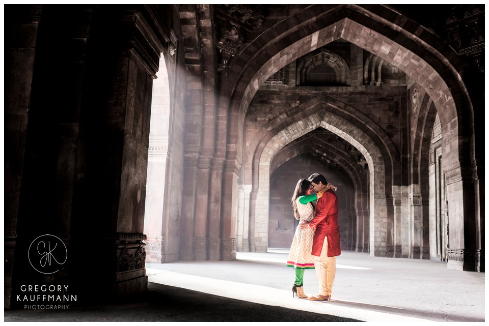 Pre-wedding photoshoot locations - Purana Qila
