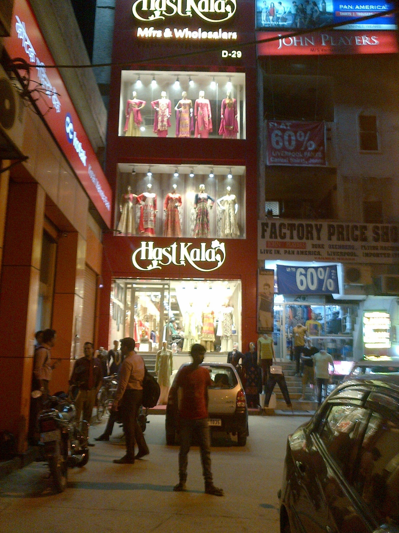 Lajpat Nagar shopping