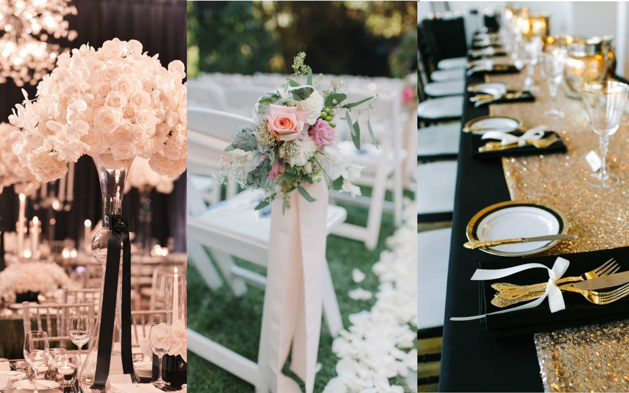 10 Ways Of Using Ribbons In Your Wedding Decor Frugal2fab