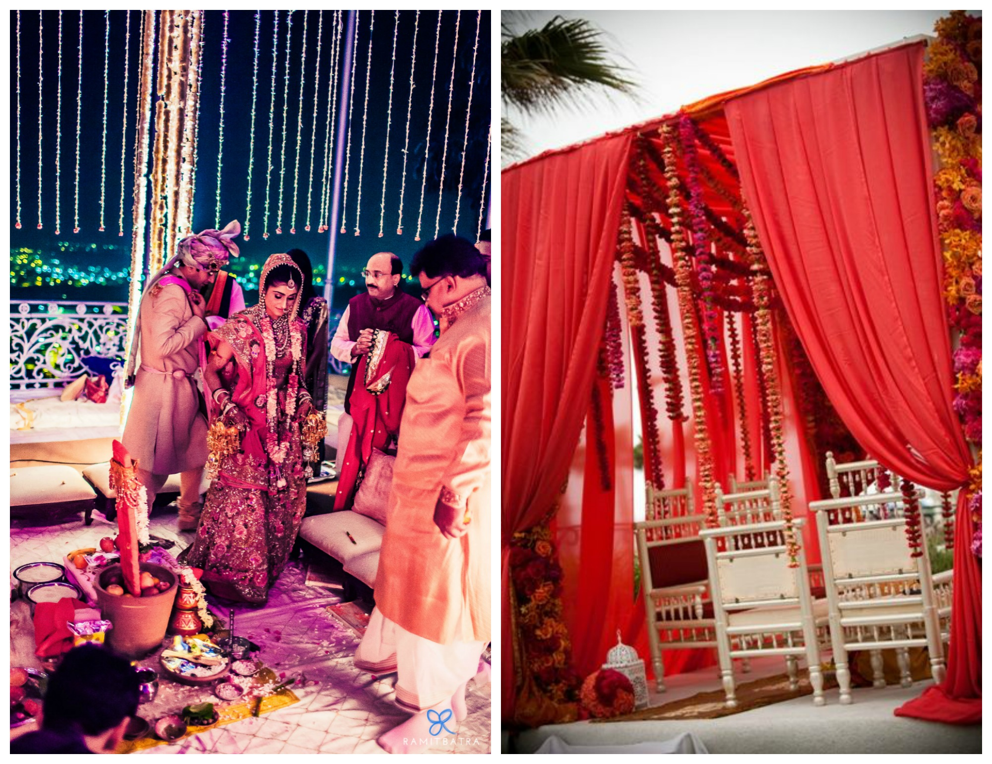 Indian Floral Mandap Decor Inspiration