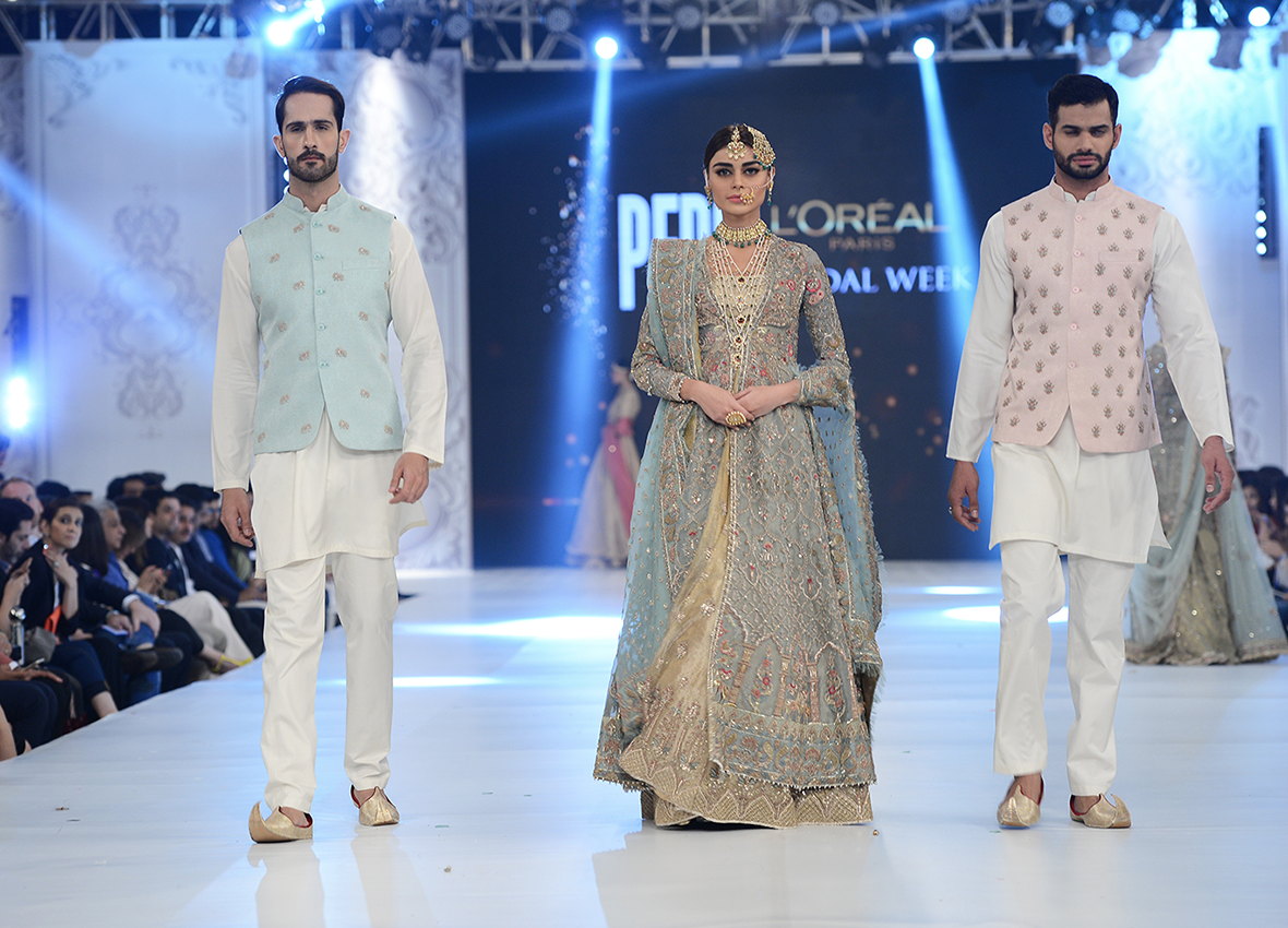 Pakistan Bridal Fashion Week Wedding Outfits