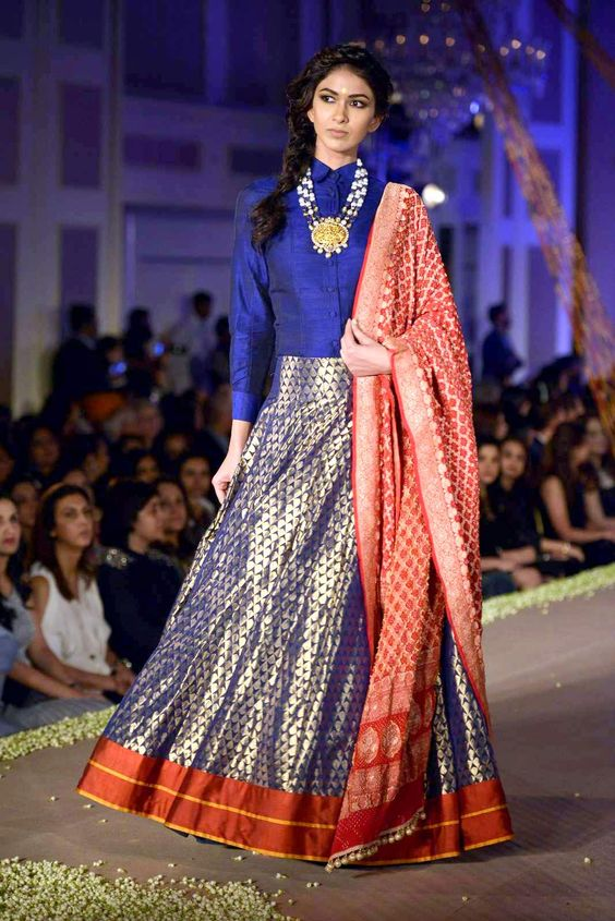 How to wear banarasi in 10 different ways