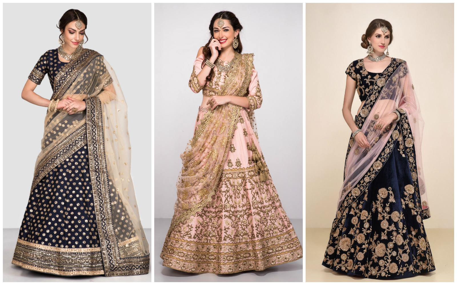 The most amazing designer lehengas to rent this season - Frugal2Fab