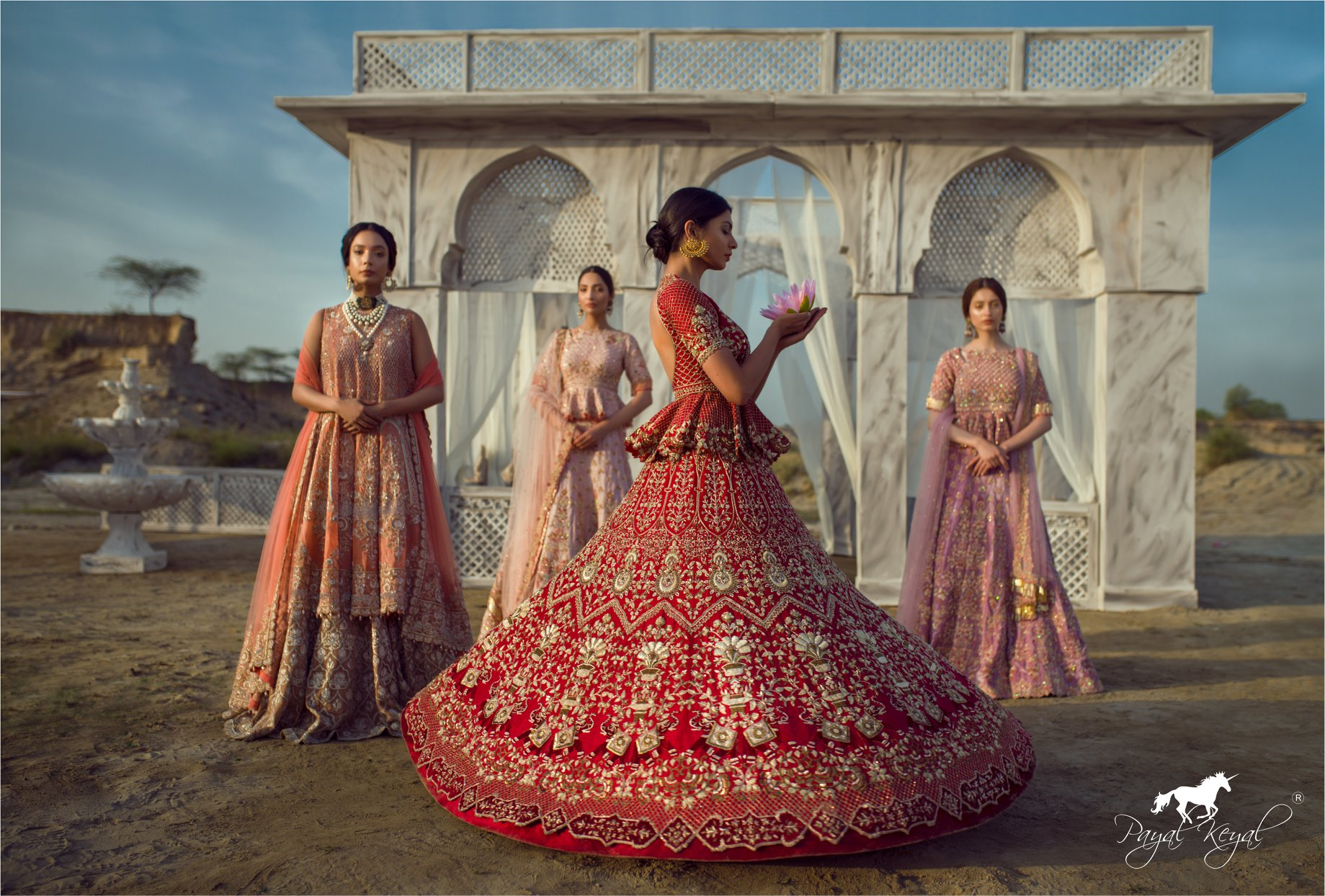 192f3581ad You Can Now Shop Pakistani Bridal Lehengas From Indian Designers! -  Frugal2Fab