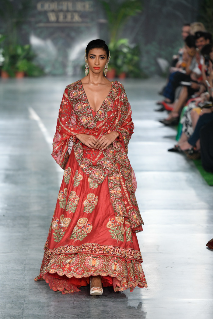 26237003fa2 Latest Bridal Lehengas by Rahul Mishra