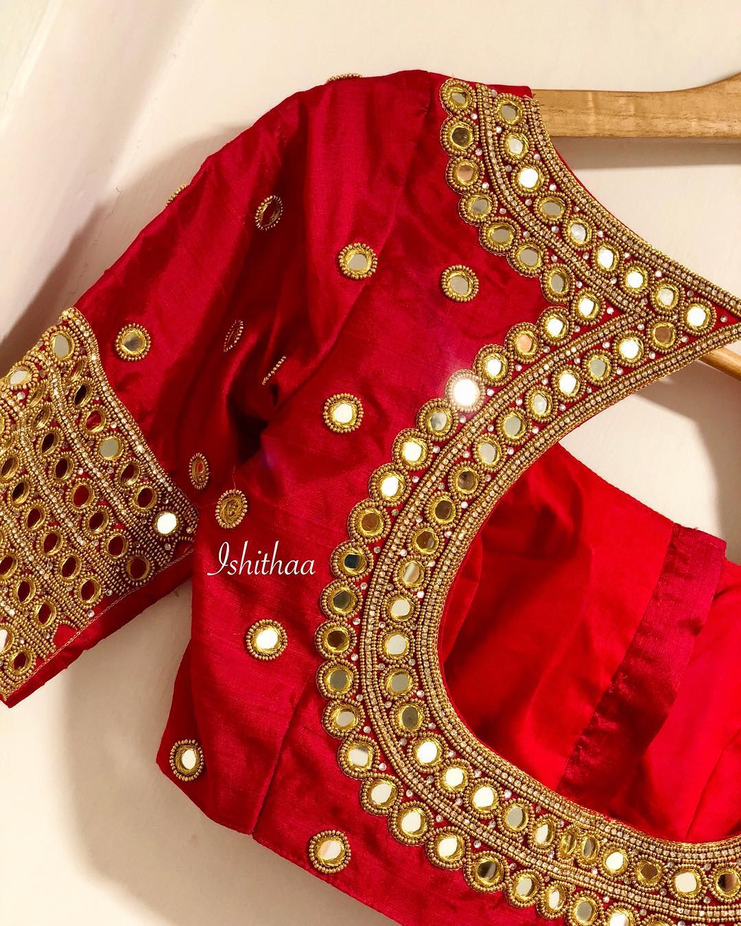 15fa7acb8c68c9 The Best Chennai Bridal Blouse Designers Just For You - Frugal2Fab