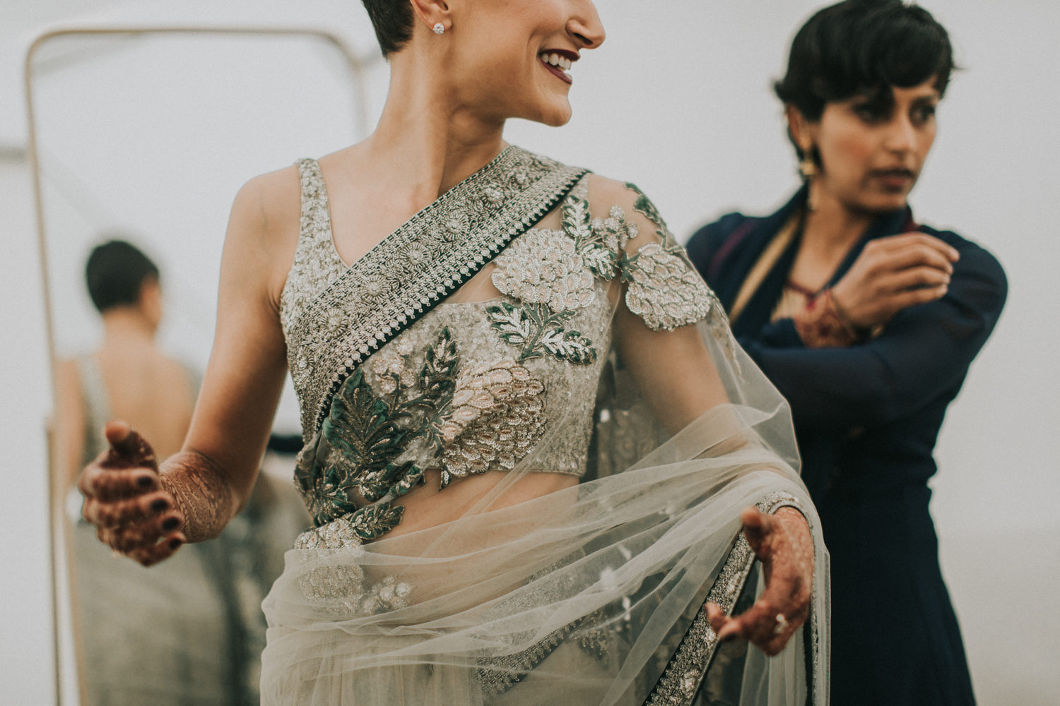 8 Brides Who Ditched The Lehenga And Wore Sabyasachi Sarees To Their Wedding Frugal2fab
