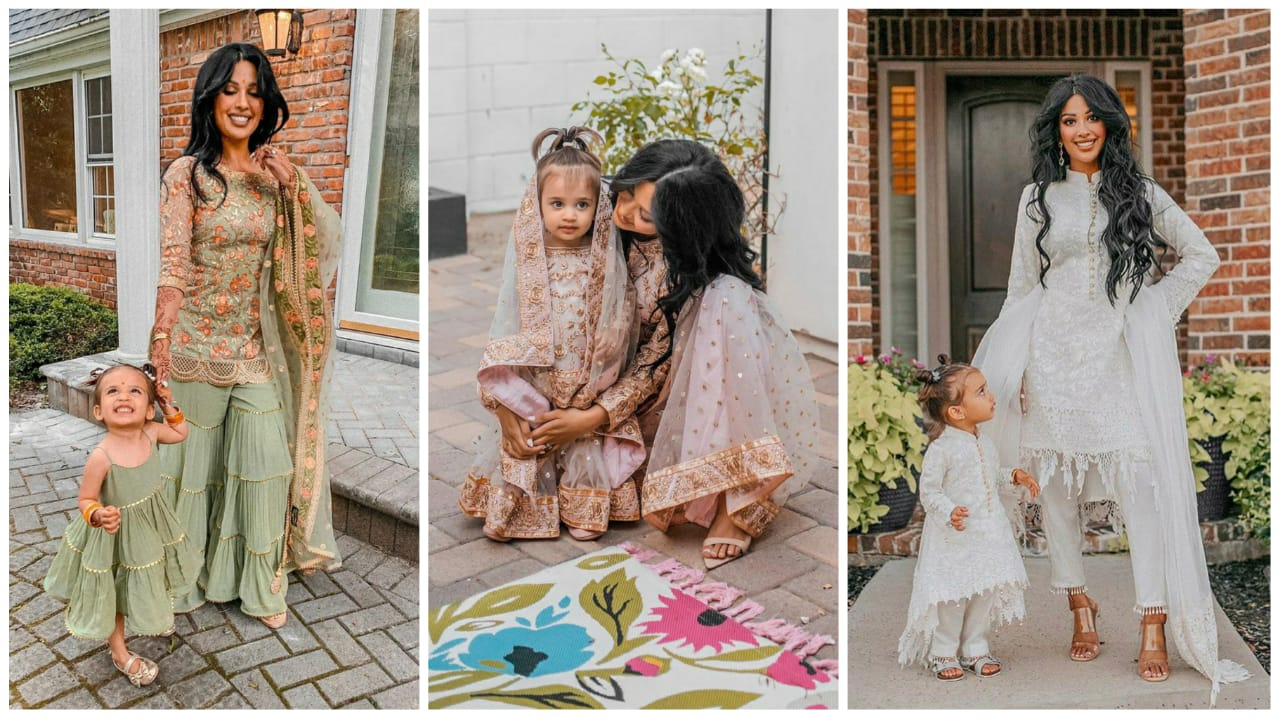 Where To Shop Mother Daughter Matching Lehenga Sharara In The Us Frugal2fab,Wedding Plus Size Semi Formal Dresses
